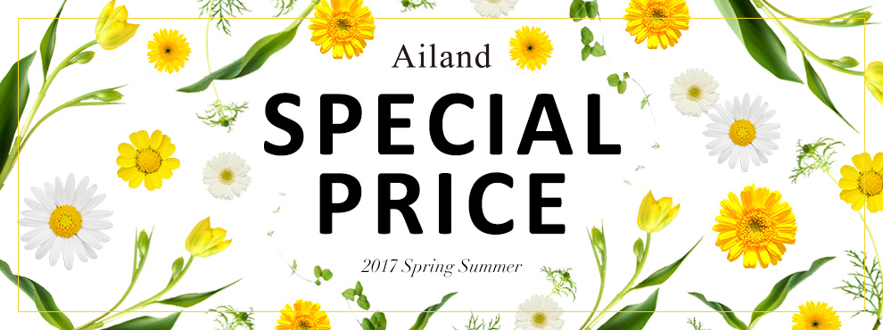 SPECIAL PRICE - 2017 Spring Summer