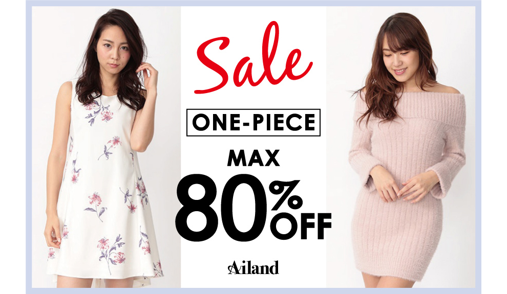 Sale ONE-PIECE MAX 80Percent OFF
