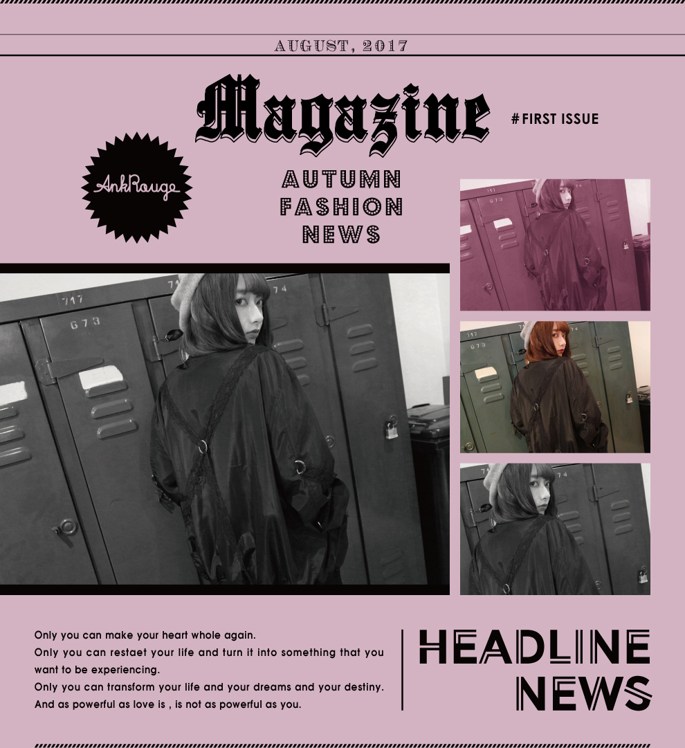FIRST ISSUS Magazine - HEADLINE NEWS