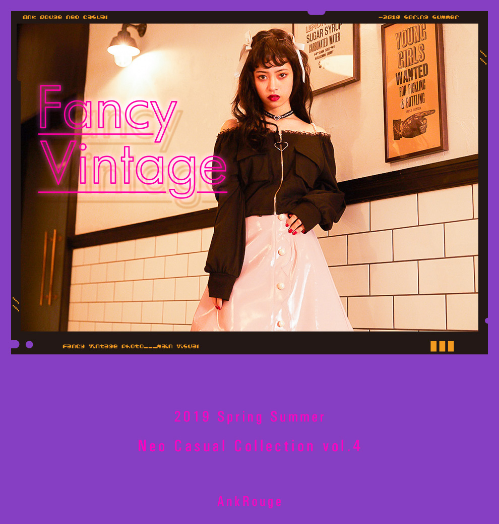 Fancy&Vintage 2019 Spring Summer Collection Vol.4