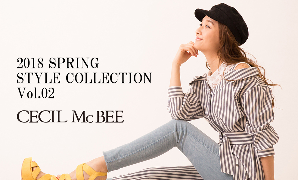 2018 SPRING STYLE COLLECTION Vol.02