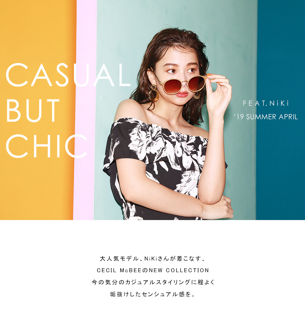 19 SUMMER APRIL 【CASUAL BUT CHIC】 FEAT,Niki